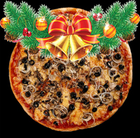 Конкурс - Новогодняя пицца